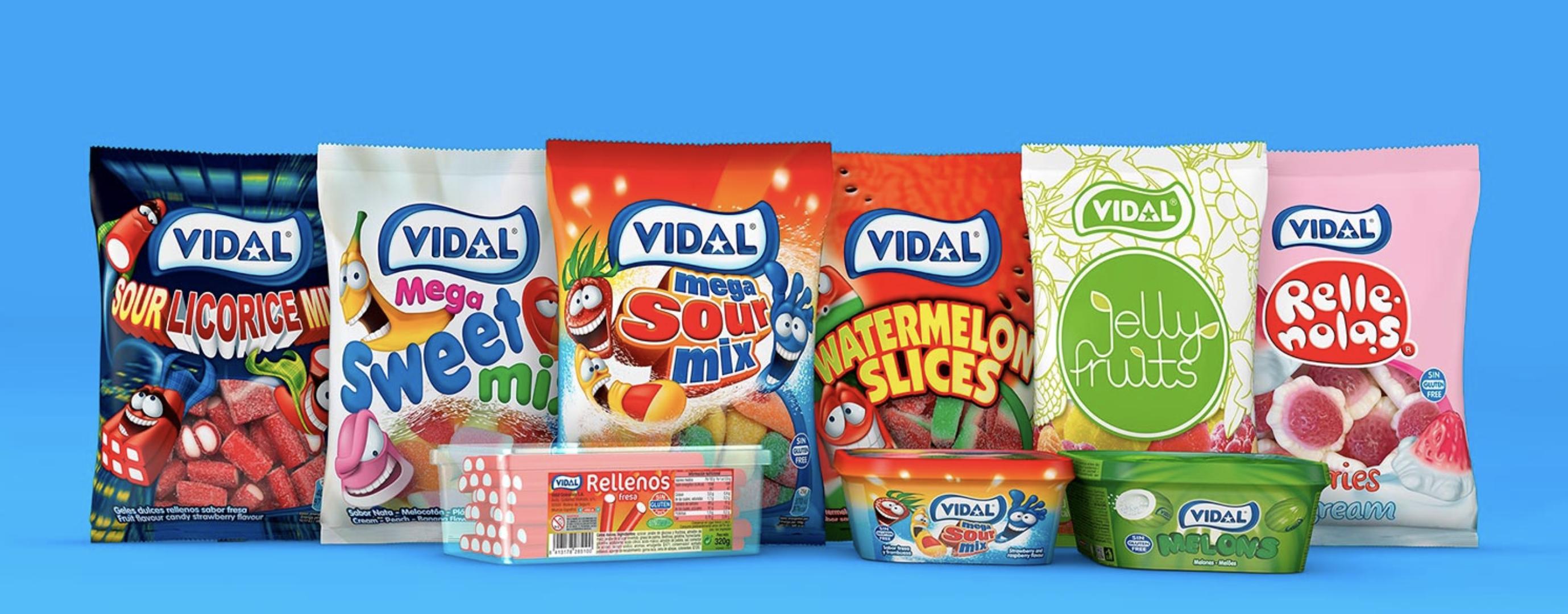 Caso de estudio Golosinas Vidal - Kártica Agencia Branding